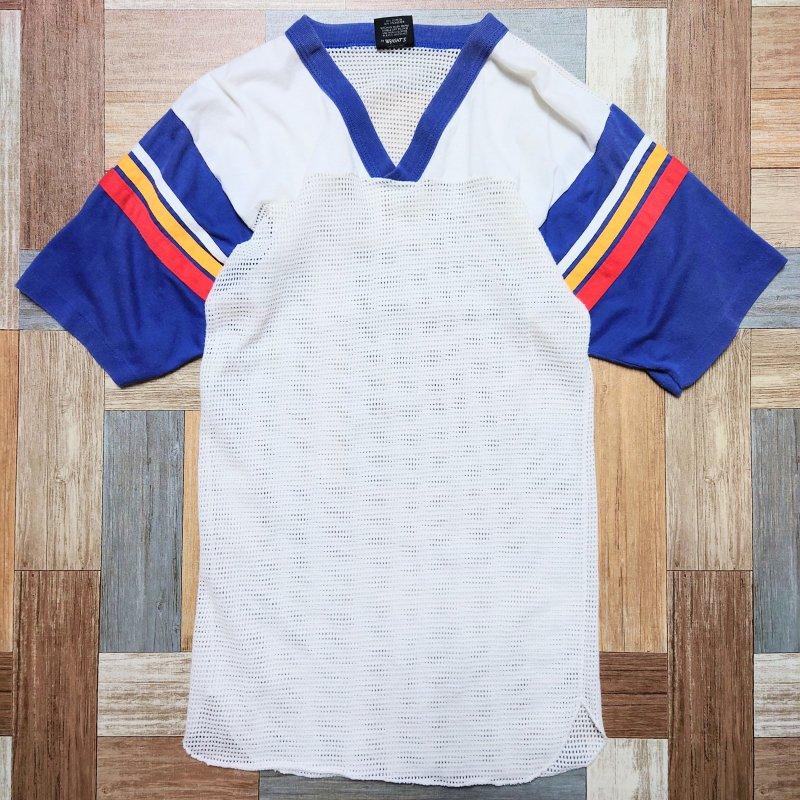 90's LOCKER TOPS USA製 メッシュ Tシャツ (レディース古着)