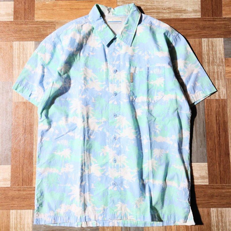 Columbia PFG 半袖 シャツ (メンズ古着)