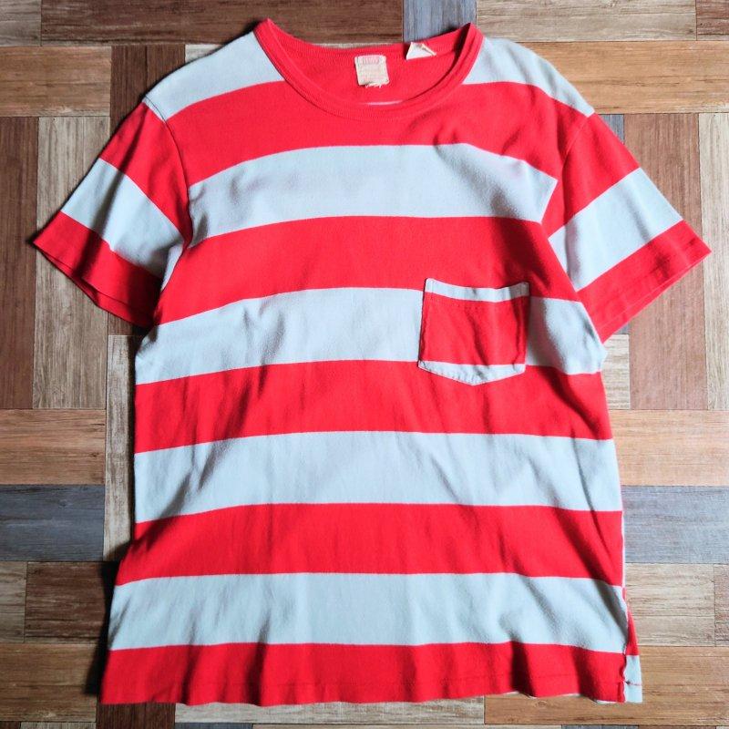 Levi's ボーダー ポケット Tシャツ (メンズ古着)