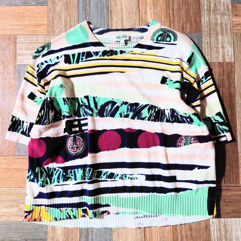 Vintage KENZO サマーニット セーター (レディース古着)