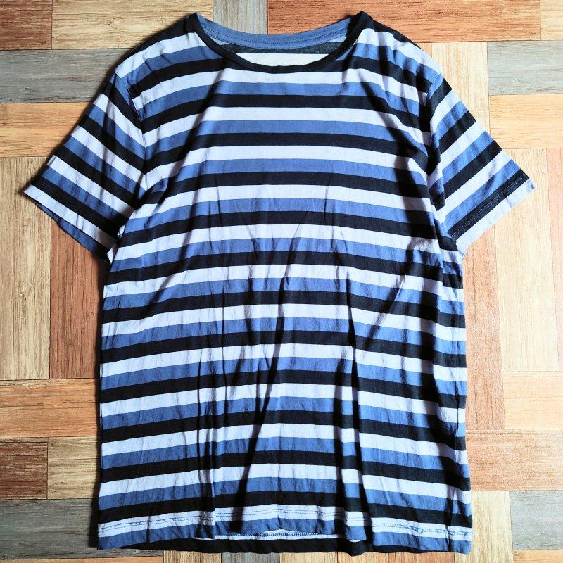 UMIT BENAN イタリア製 ボーダー Tシャツ (メンズ古着)