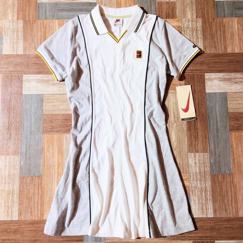 90's NIKE ポロシャツ ワンピース DEAD STOCK (レディース古着)