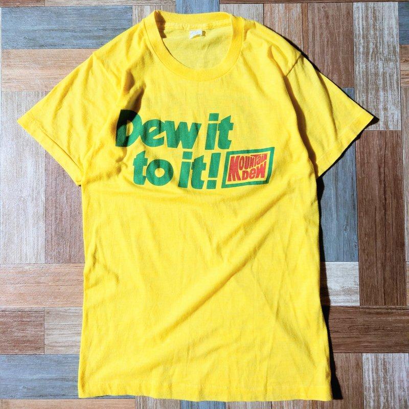 90's Mountain Dew Tシャツ (レディース古着)