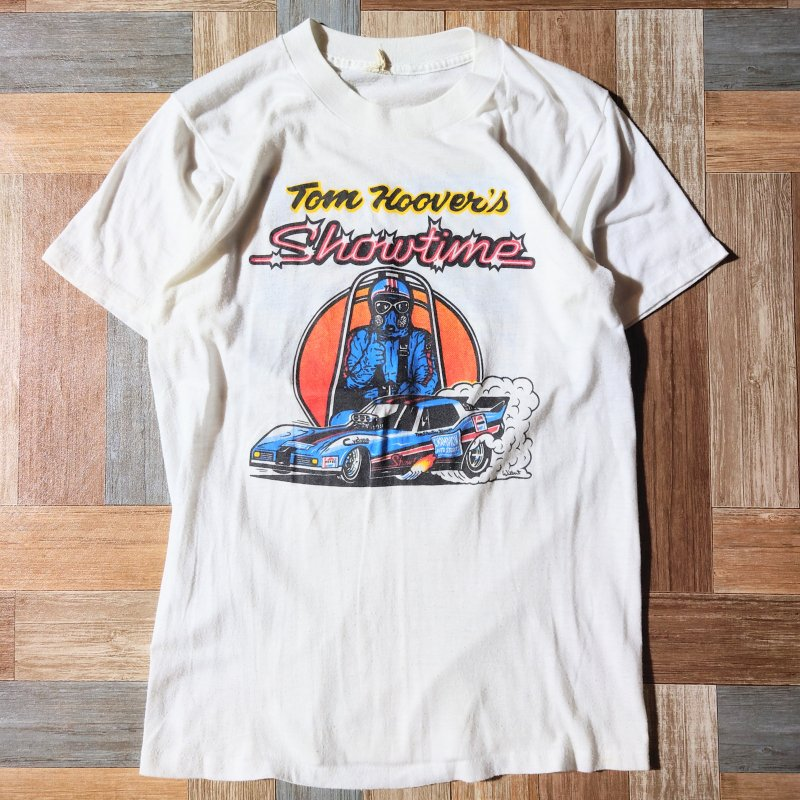 90's USA製 CHAMPION AUTO STORES Tシャツ (メンズ古着)
