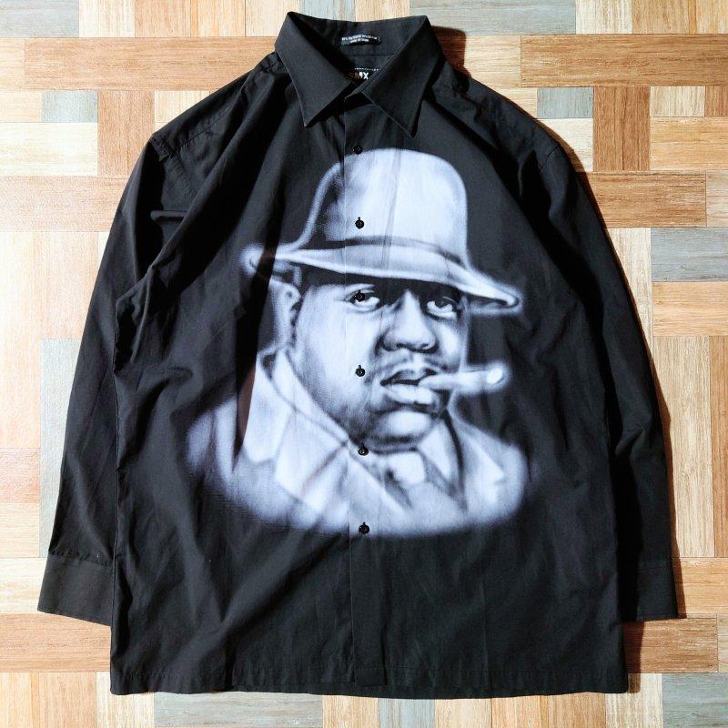 SMX スモーカー シャツ ブラック (メンズ古着)