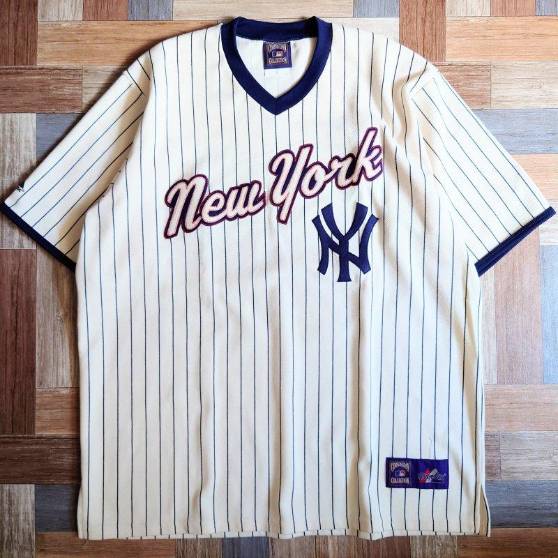 90's majestic USA製 ベースボール Tシャツ (メンズ古着)
