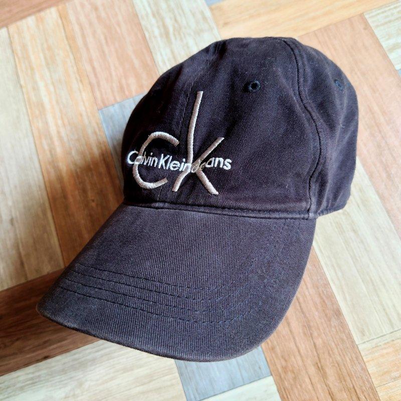 Calvin Klein Jeans ロゴ キャップ ブラック (USED&VINTAGE)