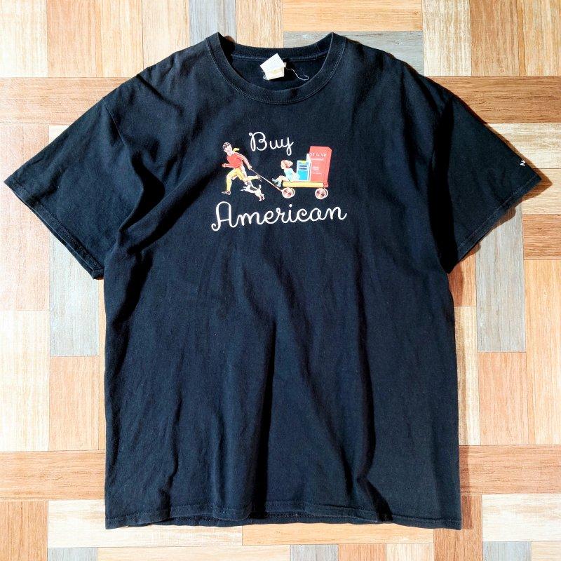 NOAH NYC Buy American Tシャツ ブラック (メンズ古着)
