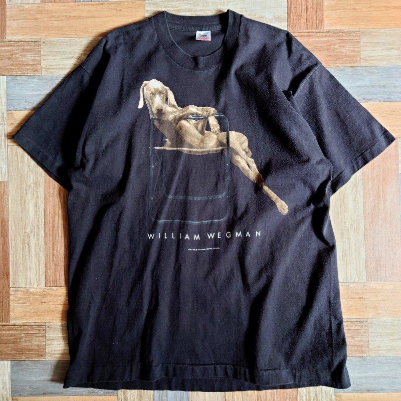 90's WILLIAM WEGMAN USA製 Tシャツ LOLITA (メンズ古着)