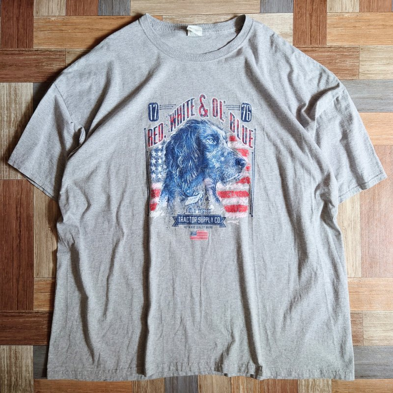 TRACTOR SUPPLY CO. Tシャツ グレー (メンズ古着)