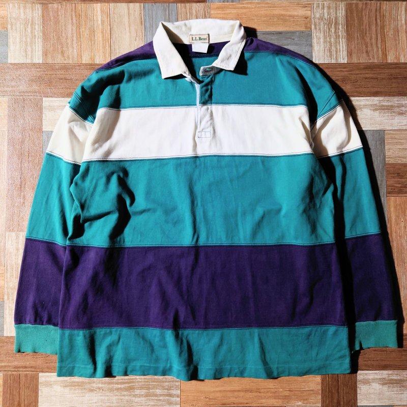 70~80's L.L.Bean ペルー製 ラガー シャツ (メンズ古着)
