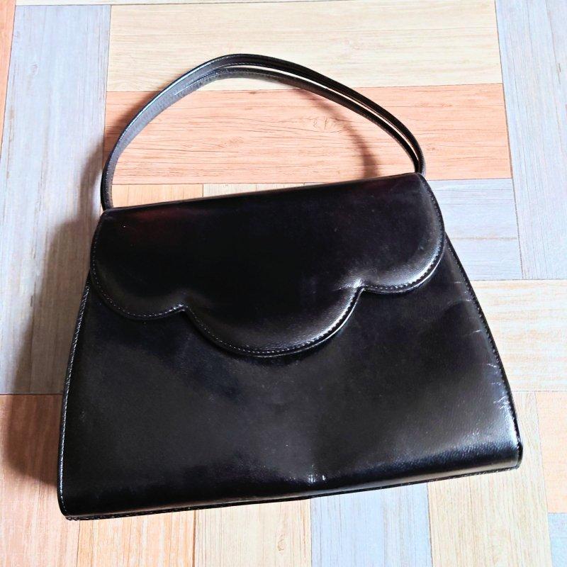 Vintage HANAE MORI 2way バッグ ブラック (USED&VINTAGE)