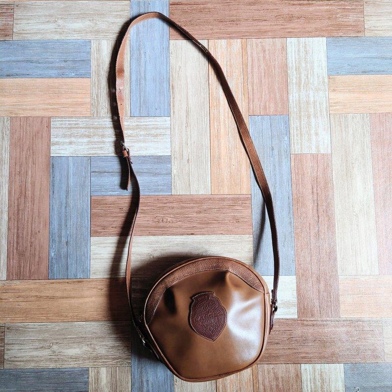 Vintage LANCEL ミニ ショルダーバッグ ブラウン (USED&VINTAGE)