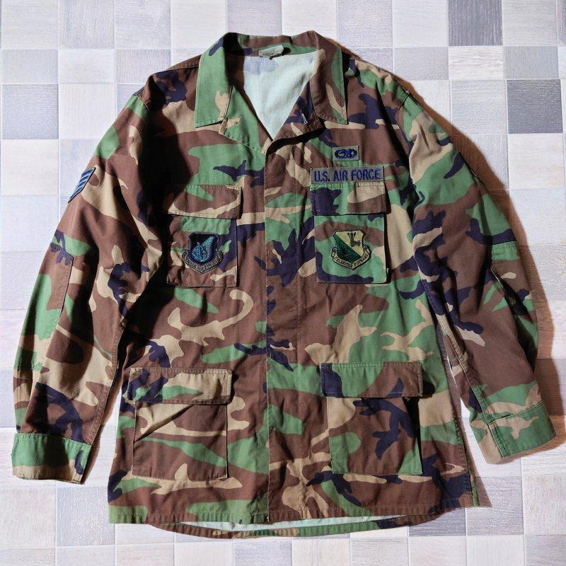 90's アメリカ軍実物 迷彩 ファティーグ ジャケット (VINTAGE)