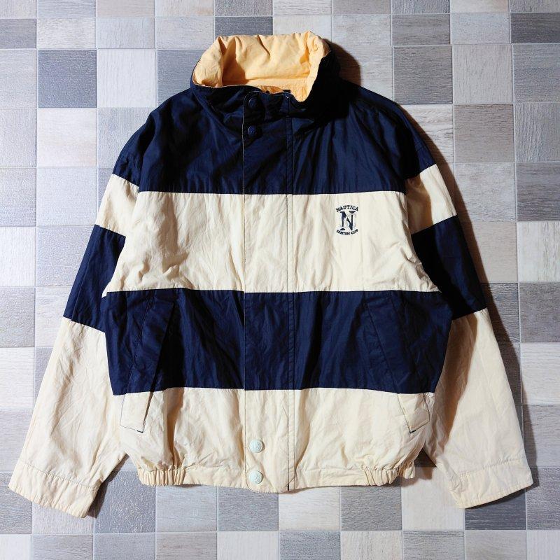 90's nautica リバーシブル セーリング ジャケット (VINTAGE)