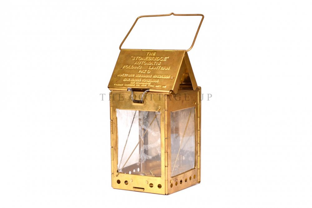 The stonebridge automatic folding candle lantern