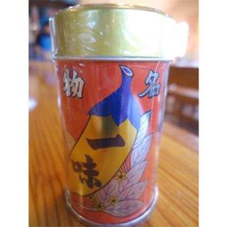 八幡屋礒五郎(やわたやいそごろう) 一味 唐辛子 缶