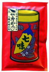 八幡屋礒五郎(やわたやいそごろう)七味唐辛子 袋
