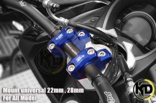 【国内在庫あり】ホンダ PCX125(JF56) PCX150(KF18) ハンドルアップ ブラケット 28mm 4色