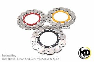ヤマハ NMAX125 NMAX155 レーシングボーイ 230mm フロントブレーキディスク 3色