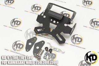 カワサキ Ninja250 ニンジャ250 KANGI RACING フェンダーレスキット ver2