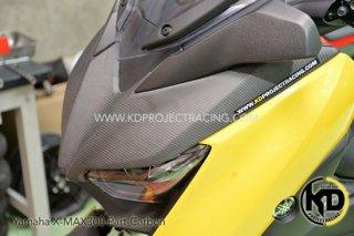 ヤマハ XMAX フロントマスク カーボンタイプ