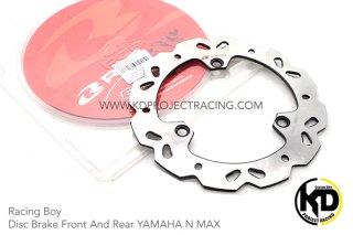 【国内在庫あり】ヤマハ AEROX155 エアロックス155 レーシングボーイ 230mm フロント ブレーキディスク シルバー