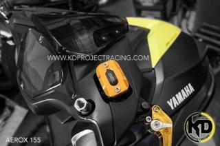 【国内在庫あり】ヤマハ AEROX155 エアロックス155 GTR ブレーキマスターシリンダーカバー 5色 101062