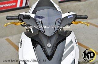 ヤマハ AEROX155 エアロックス155 レーシングボーイ ブレーキレバー 左右セット 3色