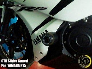 ヤマハ YZF-R15 GTR エンジンスライダー エンジンガード 4色