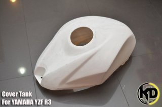 ヤマハ YZF-R3 タンクカバー 未塗装