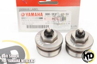 ヤマハ YZF-R3 フロントフォークトップボルト