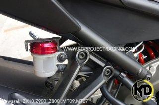 カワサキ Z900 リア ブレーキ マスターシリンダー カバー キャップ 4色