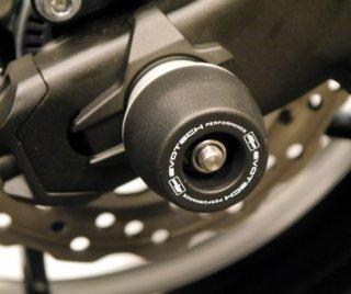 カワサキ Z900 EVOTECH リヤ アクスル スライダー