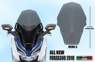 ホンダ フォルツァ MF13 HERO ウインドシールド ウインドスクリーン No.5