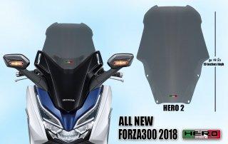 ホンダ フォルツァ MF13 HERO ウインドシールド ウインドスクリーン No.2