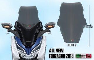 【国内在庫あり】ホンダ フォルツァ MF13 HERO ウインドシールド ウインドスクリーン No.3 10200400