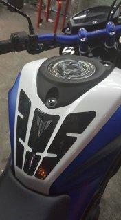 ヤマハ M-SLAZ NAKED タンクパッド タンクキャップカバー セット 3色