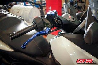 ヤマハ XMAX GTR 6段調整 ブレーキレバー 5色