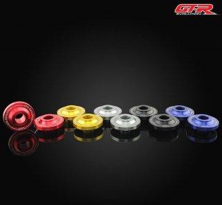 【一部国内在庫あり】ヤマハ XMAX GTR フロント ホイール ベアリング カバー 左右セット 5色 101012