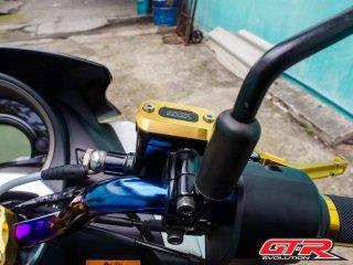 【一部国内在庫あり】ヤマハ NMAX125 NMAX155 GTR ブレーキマスターシリンダーカバー 5色 101063