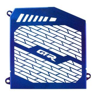 ヤマハ NMAX125 NMAX155 GTR ラジエータ ガード グリル ステンレス ブルー