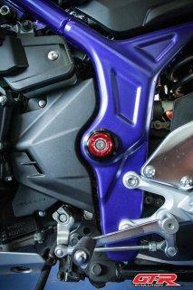 ヤマハ YZF-R3 GTR フレーム ホール カバー 5色