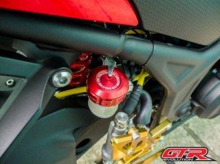 【国内在庫あり】ヤマハ MT-25 GTR リア マスターシリンダー カバー キャップ 5色 101040