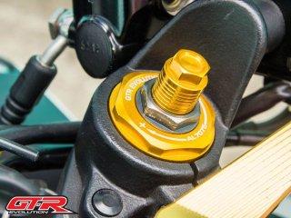 ヤマハ YZF-R25 GTR フロントフォークトップボルト 4色