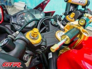 ヤマハ MT-25 GTR フロントフォークトップボルト 4色