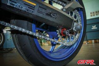 カワサキ Z900 GTR スイングアーム スプール フックボルト M8 5色