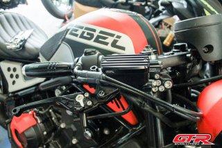 ホンダ レブル250 レブル500 GTR ブレーキマスターシリンダーカバー 4色