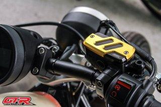 【国内在庫あり】ホンダ レブル250 レブル500 GTR ブレーキマスターシリンダーカバー 5色 101043