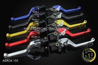 ヤマハ NVX125 GTR 6段調整 ブレーキレバー 左右セット 5色